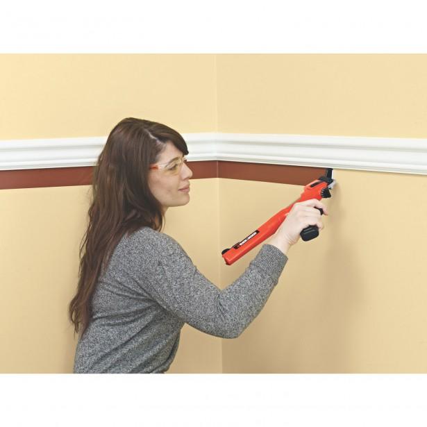 Les petits travaux de d coupe simplifi s sophie richard toit et moi - Comment peindre un mur en 2 couleurs ...