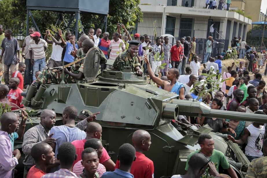 Tentative de coup d'État au Burundi | La Presse