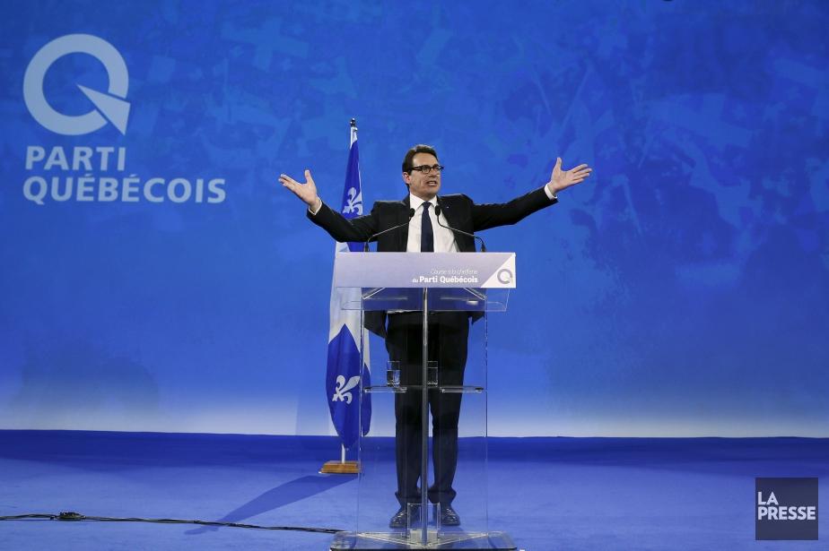 Pierre Karl Péladeau a obtenu 57,6% des votes.... (Photo Mathieu Bélanger, Reuters)
