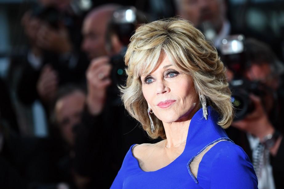 L'actrice Jane Fonda a été récompensée, dimanche, au Festival de Cannes, pour...
