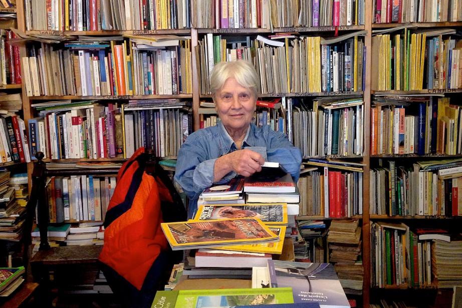 Catherine Domain, propriétaire de la librairie Ulysse, a... (Photo Anabelle Nicoud, la Presse)