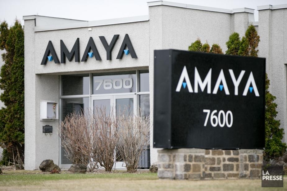 Amaya a ouvert en forte baisse, perdant jusqu'à... (PHOTO DAVID BOILY, ARCHIVES LA PRESSE)