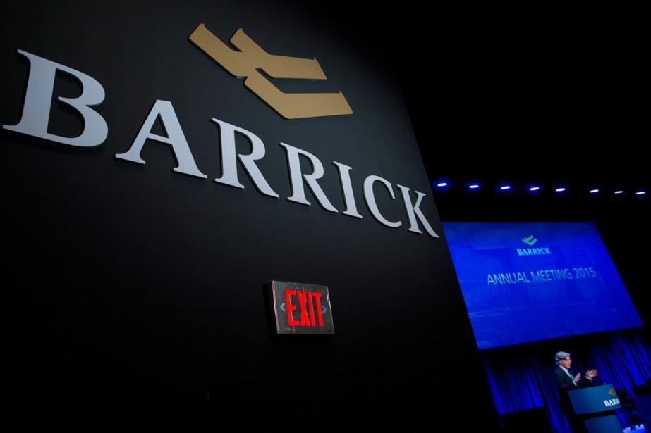 Barrick Gold a annoncé jeudi qu'elle... (PHOTO NATHAN DENETTE, ARCHIVES PC)