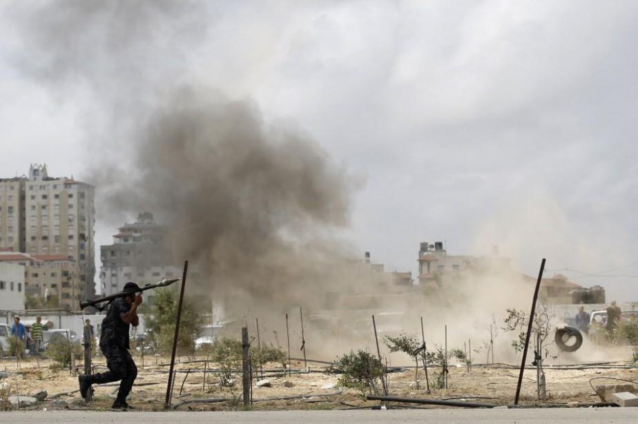 Amnesty appelle l'Autorité palestinienne, basée à Ramallah, en... (PHOTO MOHAMMED ABED, ARCHIVES AFP)