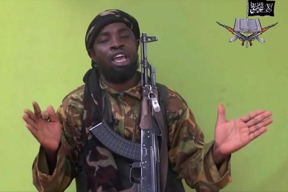 Le chef de Boko Haram,Abubakar Shekau... (PHOTO ARCHIVES AP)