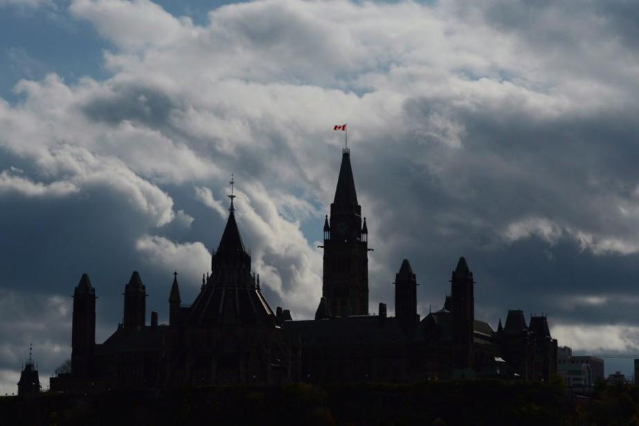 L'édifice du Parlement à Ottawa.... (PHOTO SEAN KILPATRICK, ARCHIVES LA PRESSE CANADIENNE)