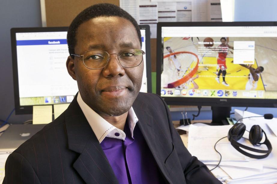 Placide Poba Nzaou est professeur au département d'organisation... (PHOTO ROBERT SKINNER, ARCHIVES LA PRESSE)