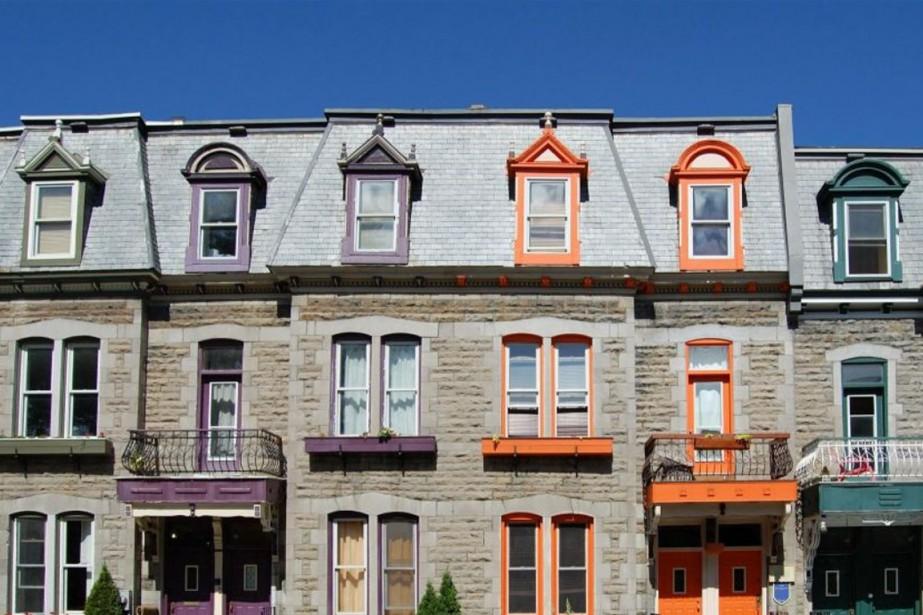 Lorsque des maisons sont jumelées ou en rangée, il arrive... (Photo Thinkstock)
