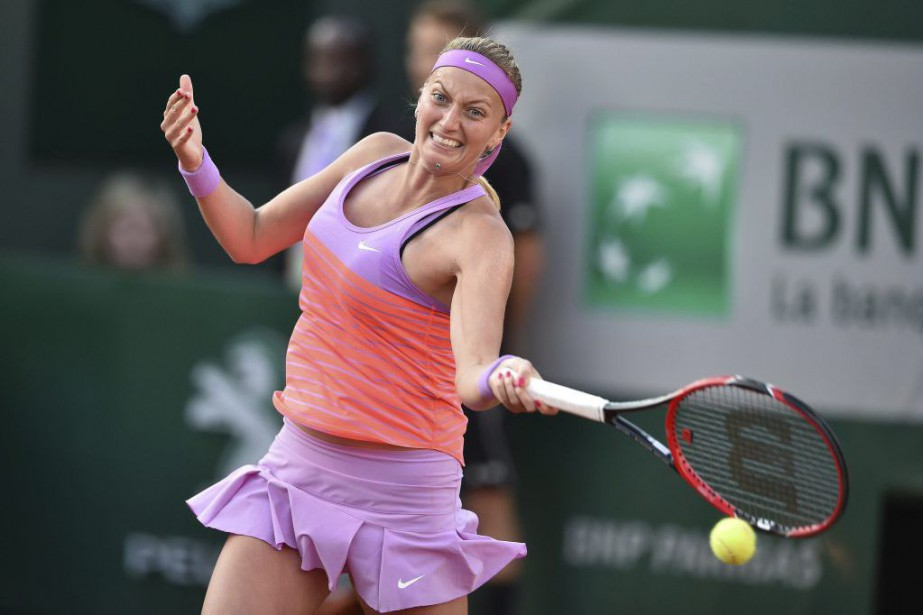 Petra Kvitova... (PHOTO PASCAL GUYOT, AFP)