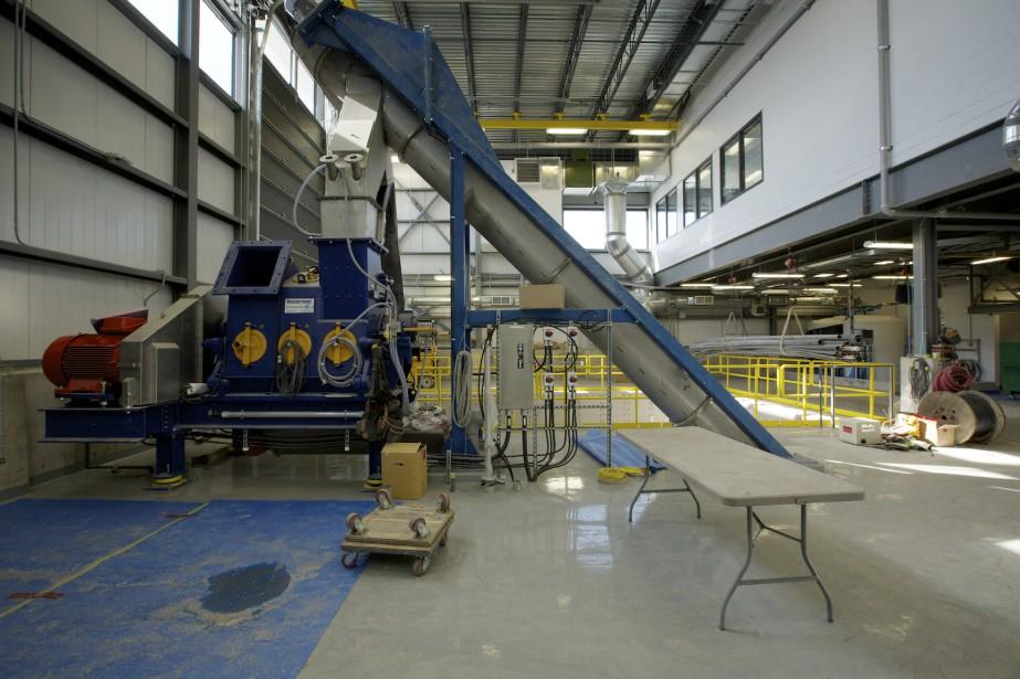 L'usine de biométhanisation de Rivière-du-Loup.... (Photo fournie par SÉMER)