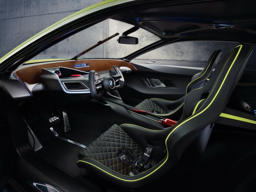 L'habitacle de la BMW 3.0 CSL (Photo fournie par BMW)