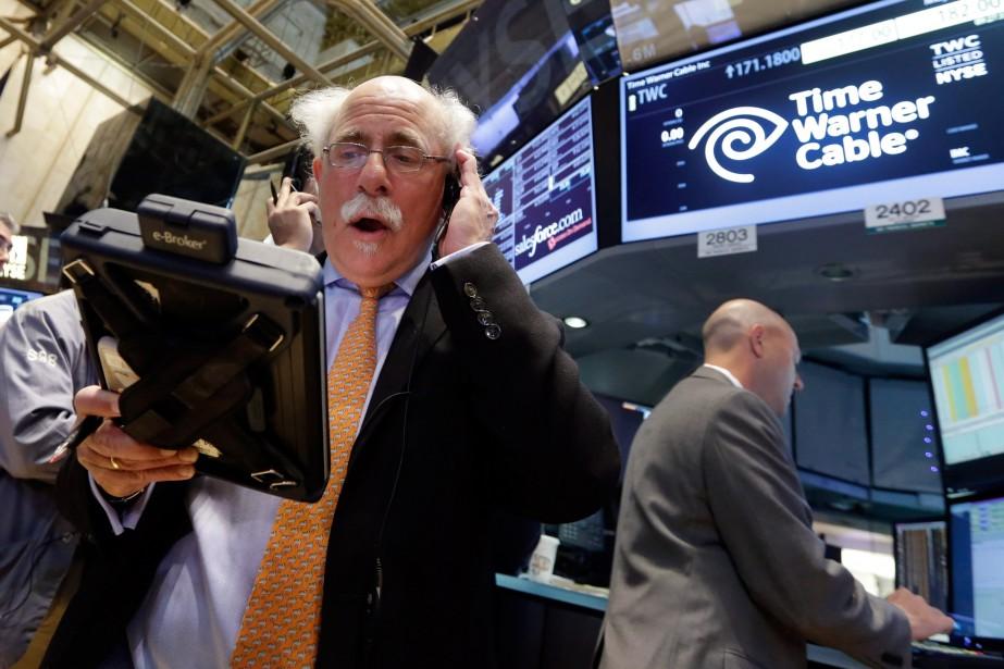 Traditionnellement, les Bourses ralentissent leur progression au cours... (PHOTO RICHARD DREW,  ASSOCIATED PRESS)