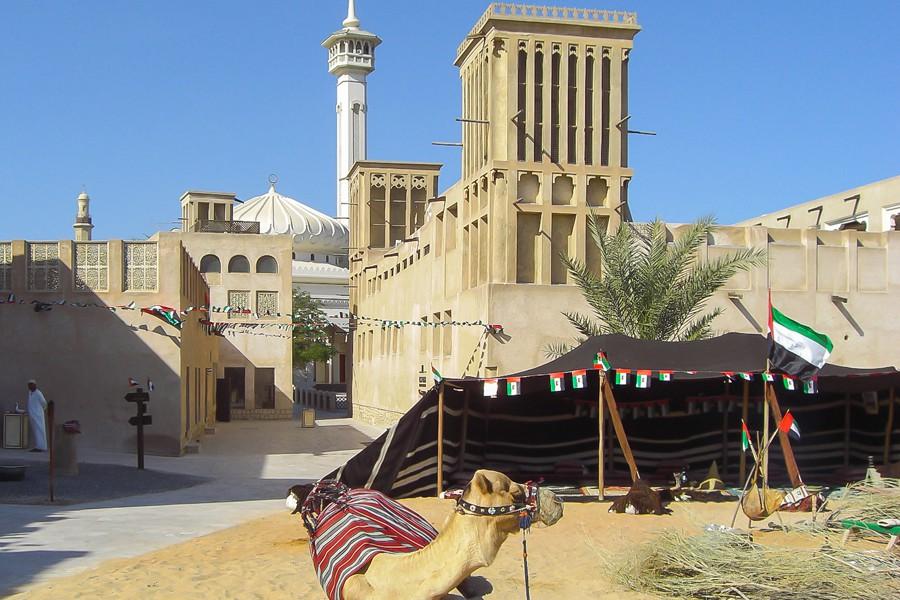 Le quartier historique Al Fahidi. (PHOTO WIKIPÉDIA)