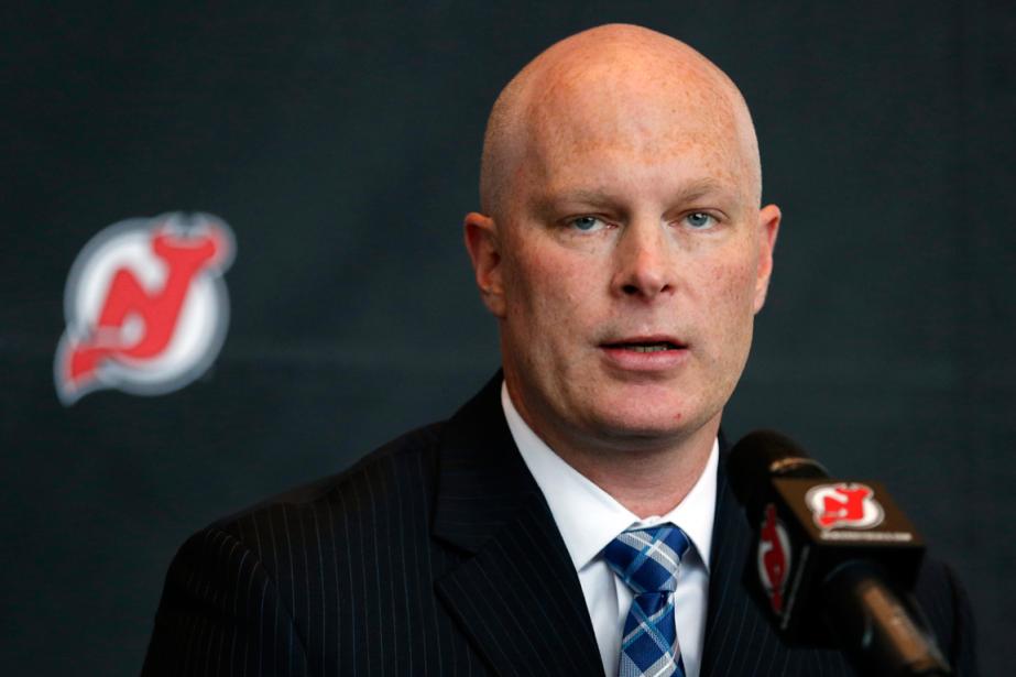 Le nouvel entraîneur-chef des Devils du New Jersey,... (Photo Julio Cortez, AP)