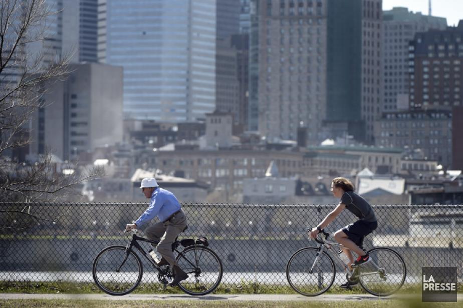 Le palmarès des villes cyclables Copenhagenize ne tient... (PHOTO BERNARD BRAULT, LA PRESSE)