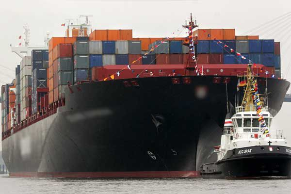 Chroniquement déficitaire, le solde des échanges des États-Unis... (PHOTO ARCHIVES AFP)