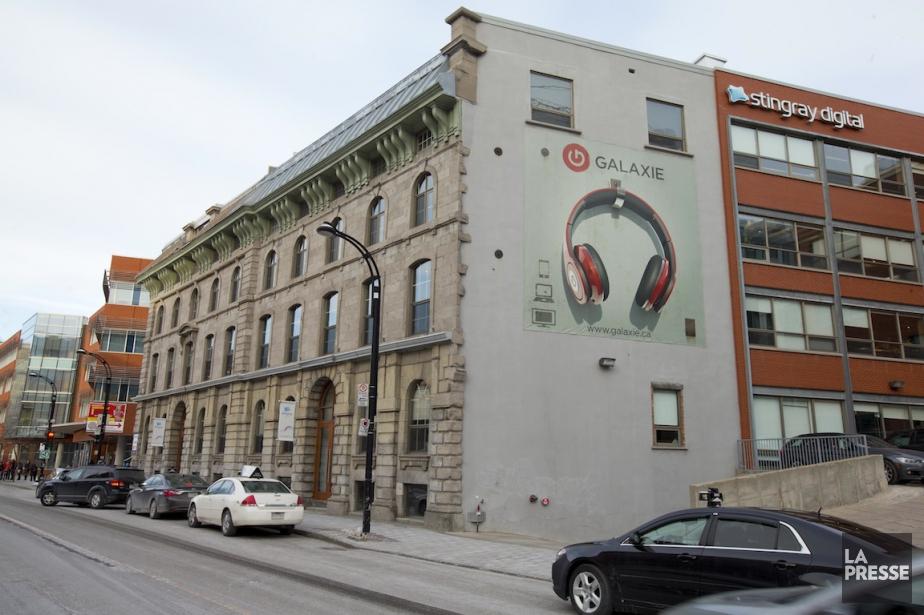 Le siège social de Stingray dans le Vieux-Montréal.... (PHOTO ALAIN ROBERGE, ARCHIVES LA PRESSE)