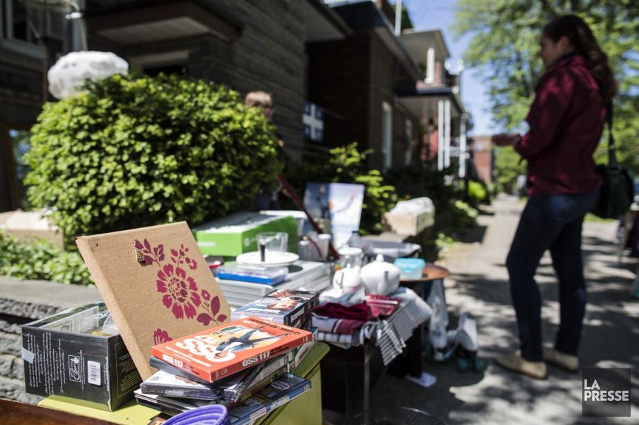 Les ventes-débarras ne fonctionnent pas selon des règles... (PHOTO EDOUARD PLANTE-FRECHETTE, LA PRESSE)