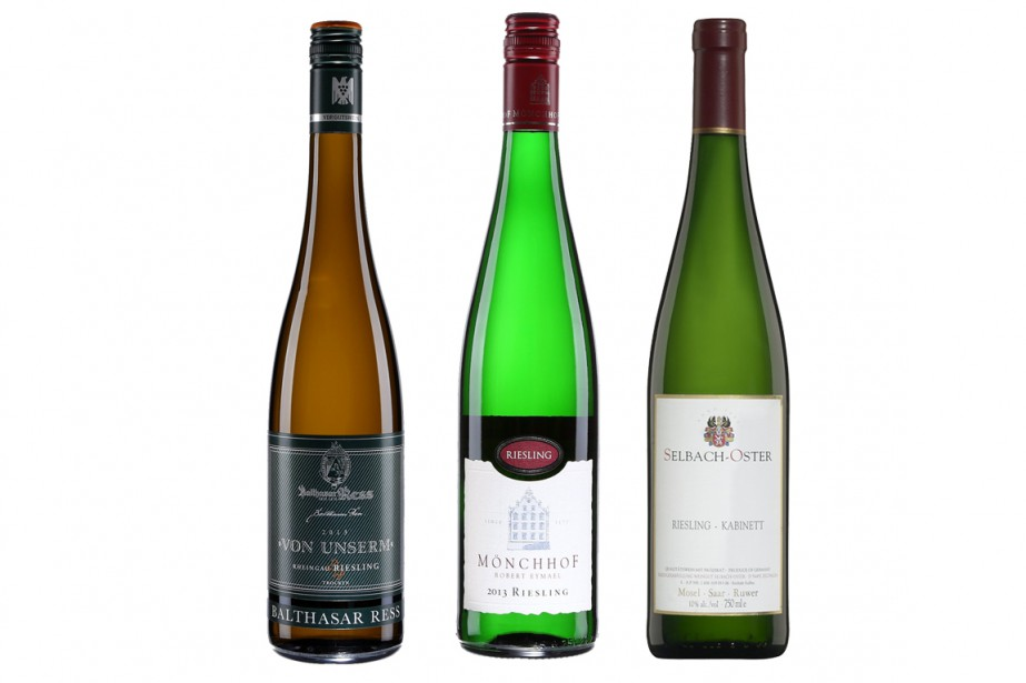 La SAQ met en vedette les vins allemands du 24 mai... (Photo fournie par la SAQ)