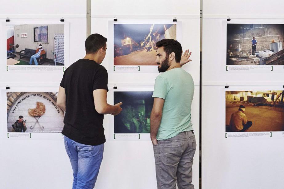 L'exposition se veut le reflet de la réalité... (Photo: AFP)