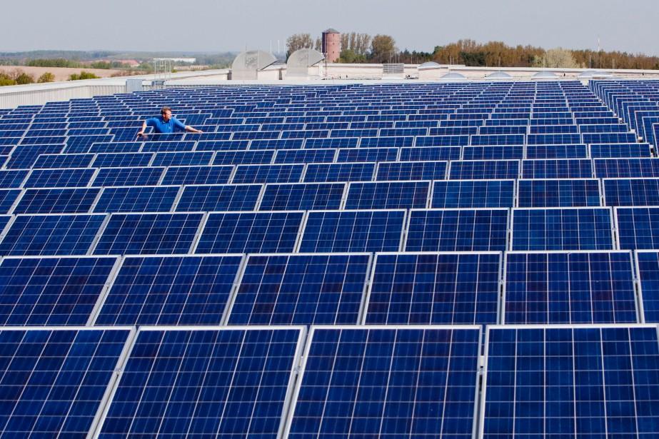 Ikea veut investir 500 millions d'euros dans l'éolien... (PHOTO PATRICK PLEUL, ARCHIVES AFP)