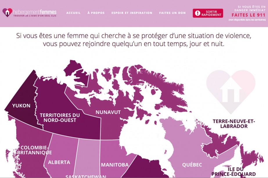 Un nouveau site Internet bilingue vise à offrir... (CAPTURE D'ÉCRAN DU SITE WEB)