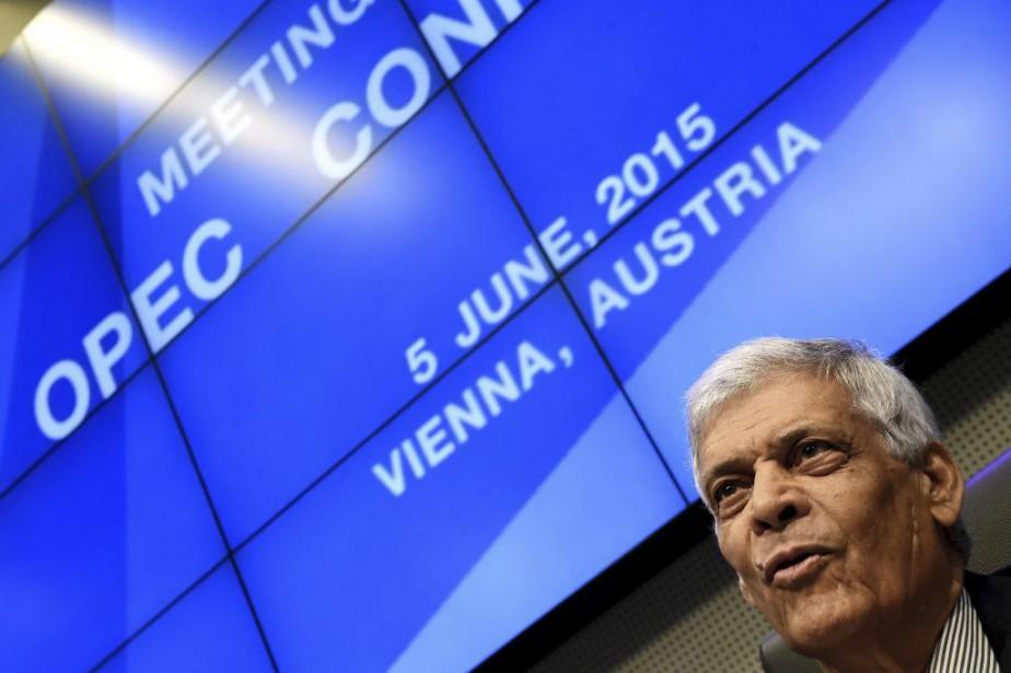 Abdallah El-Badri, secrétaire général de l'OPEP, a indiqué... (PHOTO JOE KLAMAR, AFP)