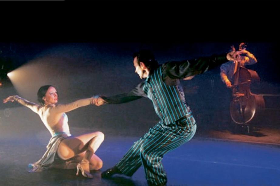 Fernanda Ghi et Guillermo Merlo tiennent les rôles... (PHOTO FOURNIE PAR THIS IS TANGO NOW)