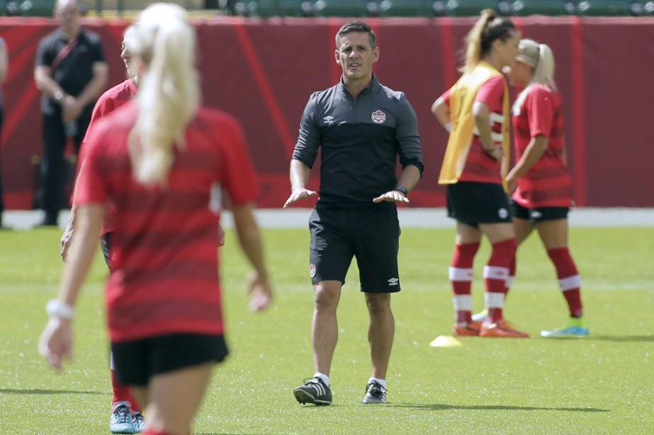 L'équipe canadienne, dirigée par John Herdman,est classée huitième... (Photo Erich Schlegel, USA TODAY Sports)