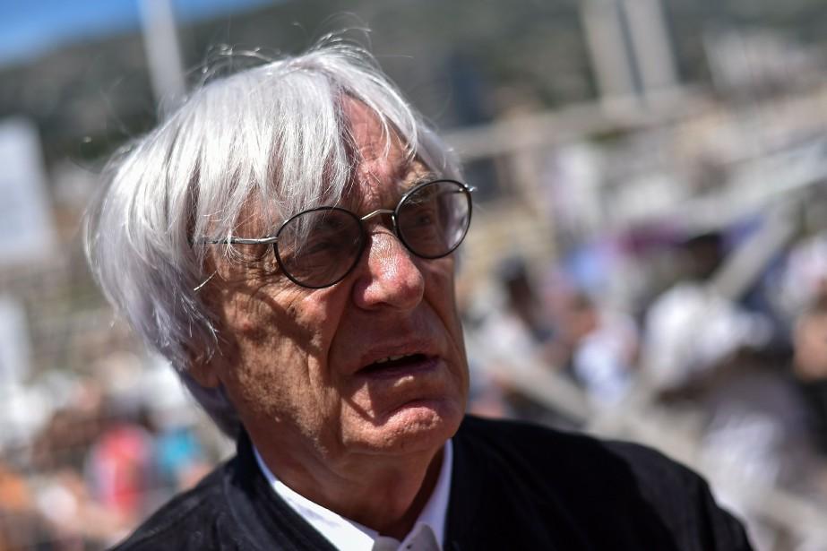 Le fisc prétend que Bernie Ecclestone, grand patron... (PHOTO ANDREJ ISAKOVIC, AFP)