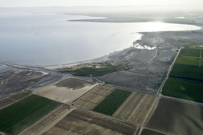 La Californie est frappée de sécheresse.... (Photo Gregory Bull, AP)