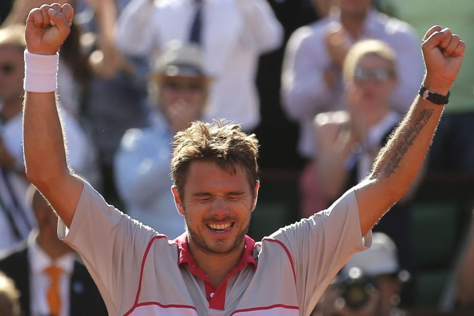 Après sa victoire en Australie,Stan Wawrinka ajoute un... (PHOTO FRANÇOIS MORI, AP)