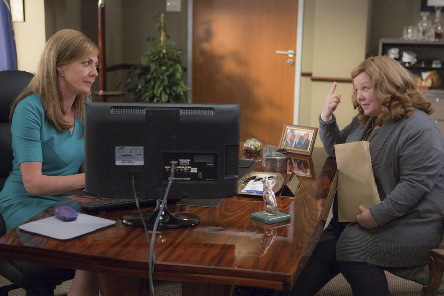 Allison Janney et Melissa McCarthy dans une scène... (PHOTO FOURNIE PAR TWENTIETH CENTURY FOX)
