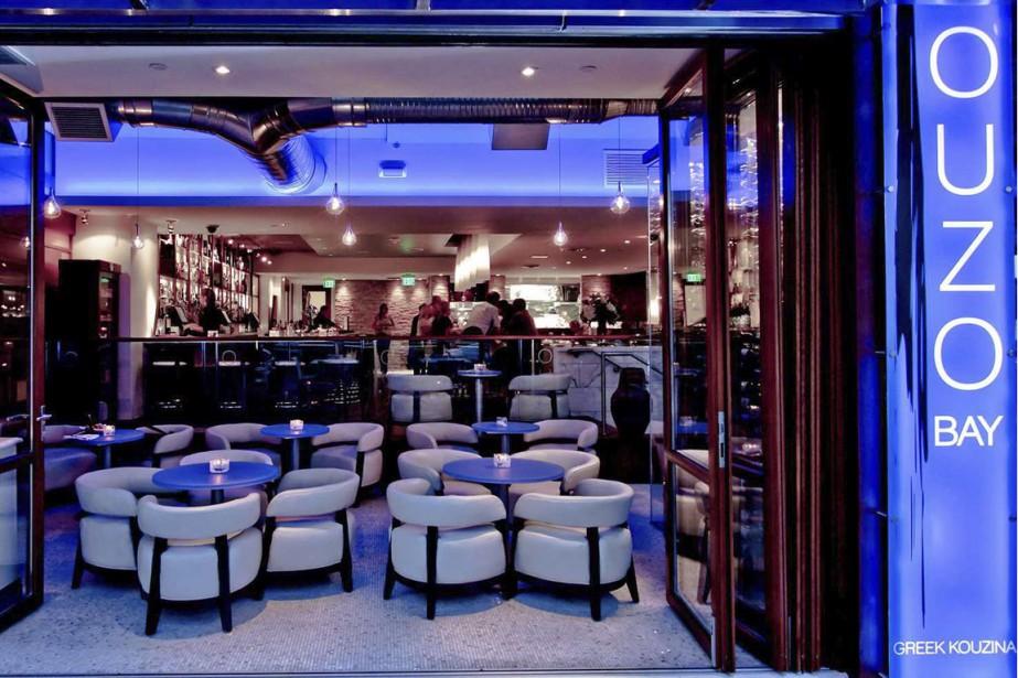 Le restaurant Ouzo Bay (PHOTO FOURNIE PAR  L'OUZO BAY)