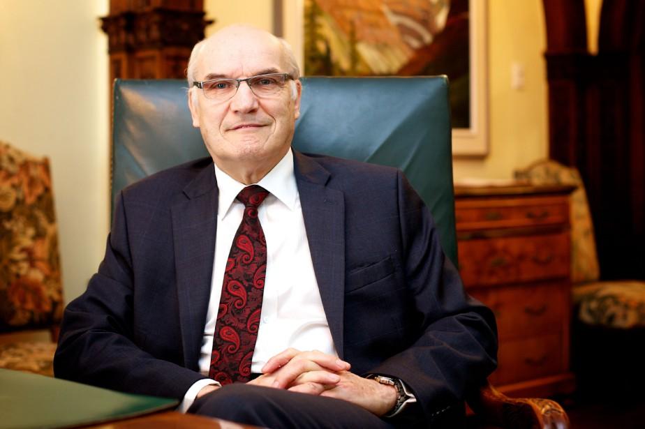 Willem Hanskamp est vice-président principal et chef du... (PHOTO SARAH MONGEAU-BIRKETT, LA PRESSE)