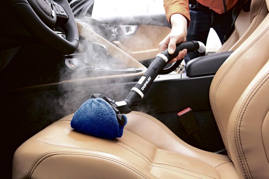 Test le nettoyeur vapeur dupray alexis le marec for Lavage interieur voiture montreal