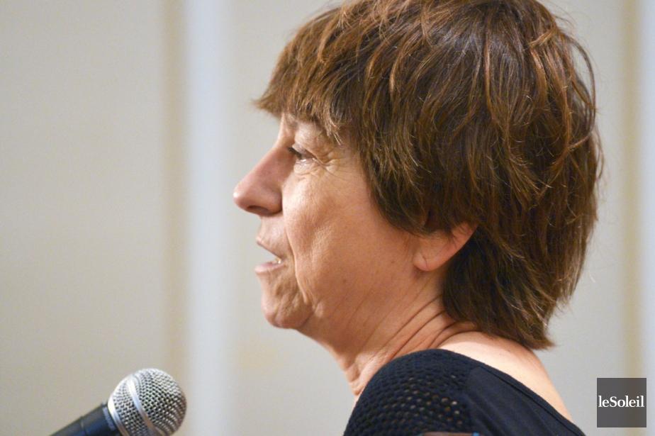 Françoise David... (Photothèque Le Soleil, Jean-Marie Villeneuve)