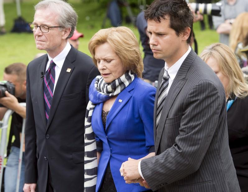 La veuve de Jacques Parizeau, Lisette Lapointe (La Presse Canadienne, Ryan Remiorz)