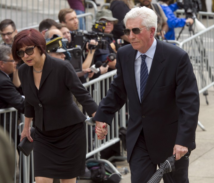 Gilles Duceppe et sa femme, Yolande Brunelle (La Presse Canadienne, Ryan Remiorz)