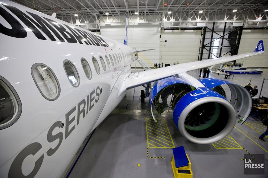 Bombardier ouvrira les portes de son CS100 au... (PHOTO DAVID BOILY, ARCHIVES LA PRESSE)