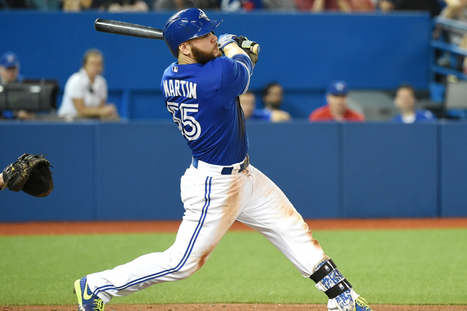 Russell Martin a claqué son neuvième circuit de... (Photo Dan Hamilton, USA Today)