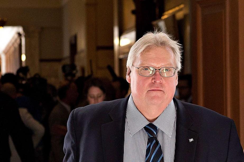 Le ministre de la Santé, Gaétan Barrette.... (PHOTO JACQUES BOISSINOT, ARCHIVES PC)