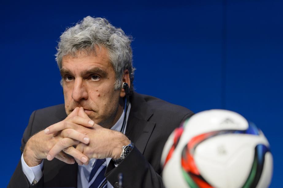 WalterDe Gregorio entretenait des liens étroits avec Sepp... (Photo Fabrice Coffrini, AFP)