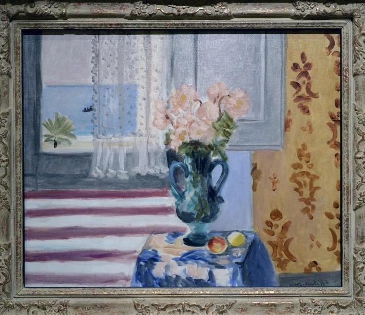 <em>Vase de fleurs</em>, 1924, deHenri Matisse (Le Soleil, Jean-Marie Villeneuve)
