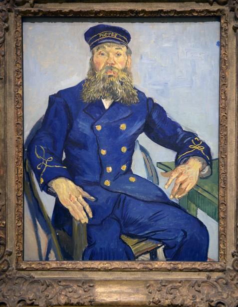 <em>Le Postier Joseph Roulin</em>, 1888, deVincent Van Gogh (Le Soleil, Jean-Marie Villeneuve)