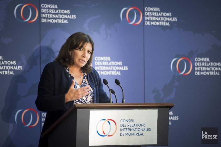 La mairesse de Paris, Anne Hidalgo... (PHOTO OLIVIER PONTBRIAND, LA PRESSE)
