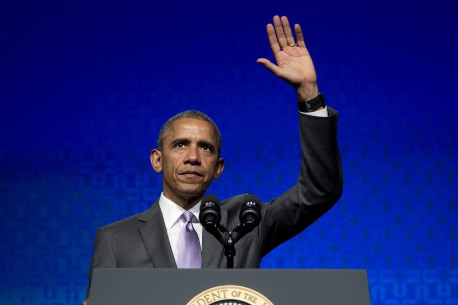 Le président Barack Obama.... (Photo Carolyn Kaster, archives AP)