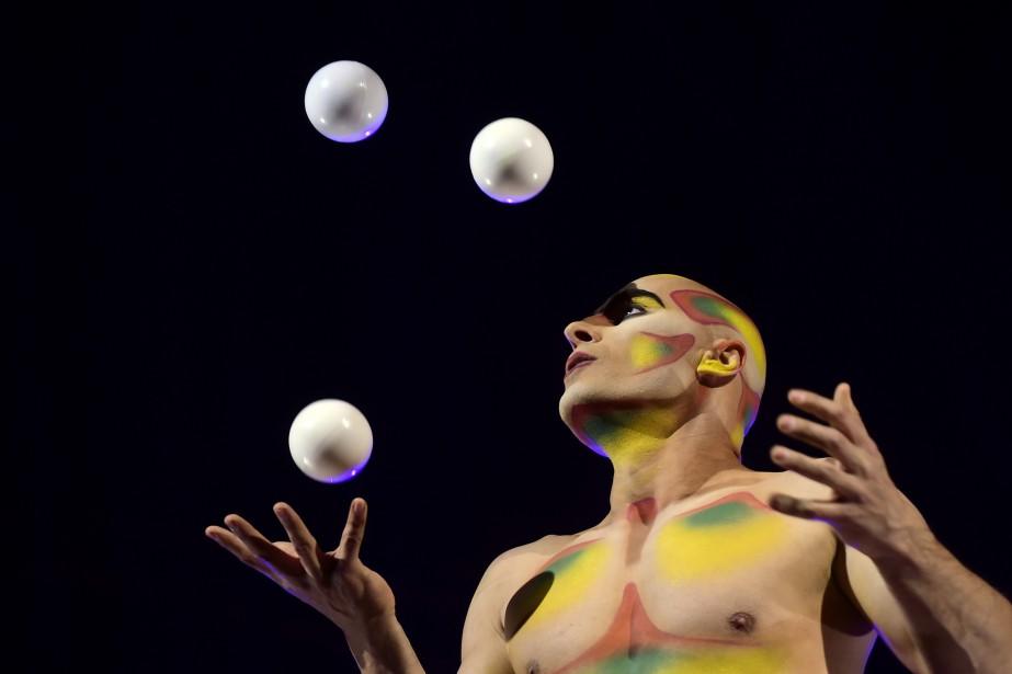 Le fondateur du Cirque du Soleil, Guy Laliberté,... (PHOTOJAVIER SORIANO, ARCHIVES AFP)