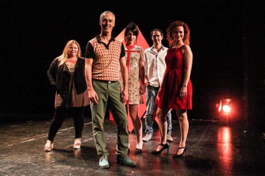 Cinq visages de la prochaine saison duQuat'Sous :... (Photo Julie Rivard, fournie par le Quat'Sous)