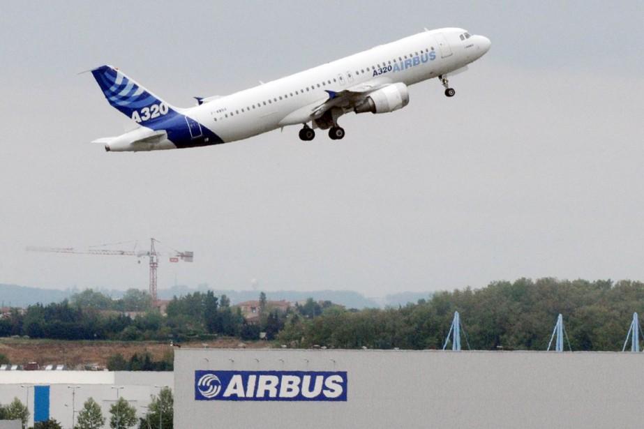 Le carnet de commandes d'Airbus s'établit à 6741... (PHOTO PASCAL PAVANI, ARCHIVES AFP)